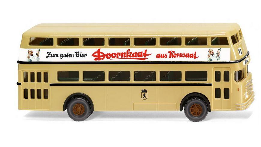 WIKING 072204 1 87 Doppeldeckerbus D2U Buessing Doornkaat