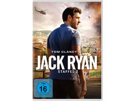 Tom Clancy s Jack Ryan Staffel 2 3 DVDs