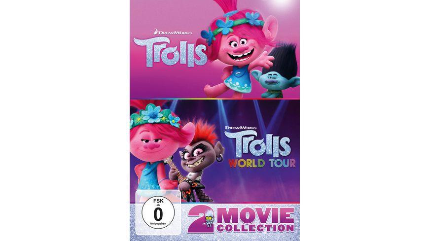 Trolls Trolls World Tour 2 DVDs