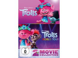 Trolls Trolls World Tour 2 DVDs