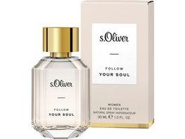 s Oliver Follow Your Soul Women Eau de Toilette Natural Spray