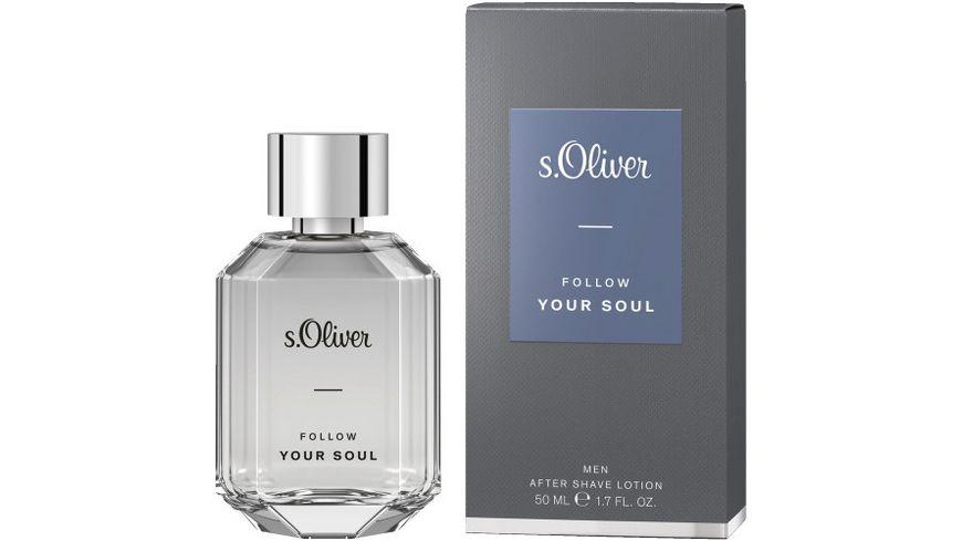 s Oliver Follow Your Soul Men After Shave Lotion