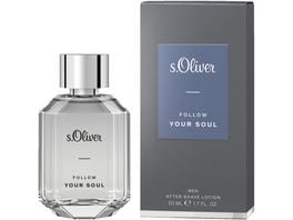 s Oliver Follow Your Soul Men After Shave Lotion