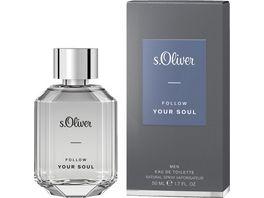 s Oliver Follow Your Soul Men Eau de Toilette Natural Spray