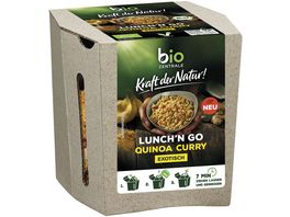 biozentrale Kraft der Natur Lunch n Go Quinoa Curry