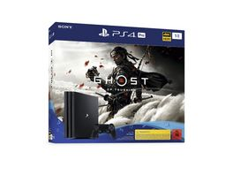 PS4 KONSOLE PRO 1 TB P18 GHOST OF TSUSHIMA BUNDLE