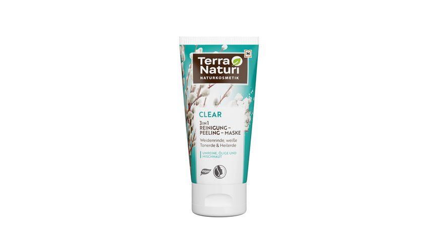 Terra Naturi Clear 3in1 Reinigung-Peeling-Maske