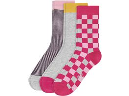 s Oliver Kindersocken Chess 3er Pack