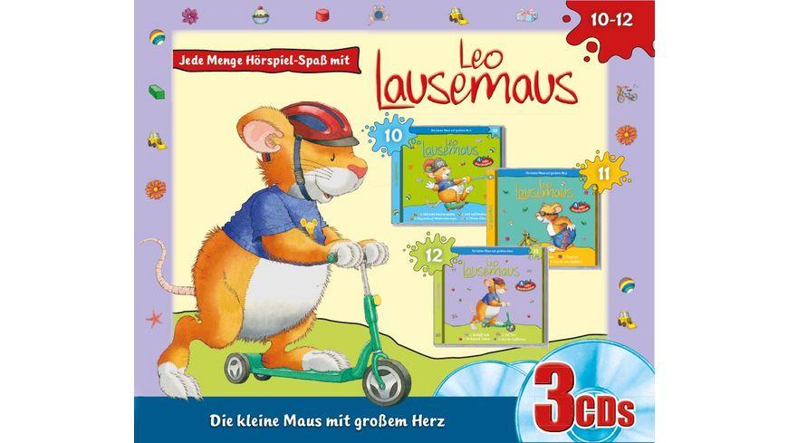 Leo Lausemaus 3er Box Folge 10-12