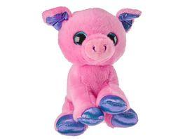 Mueller Toy Place Sparkle Tales Plueschtier Schwein 20 cm