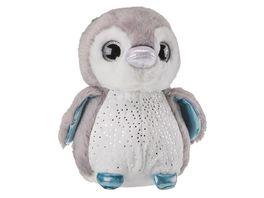 Mueller Toy Place Sparkle Tales Plueschtier Pinguin 20 cm