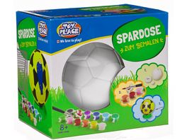 Mueller Toy Place Fussball Spardose zum Bemalen