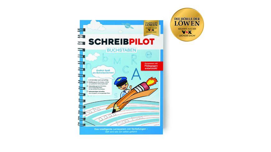 Schreibpilot - Buchstaben, Lernheft inkl. Bleistift und Radiergummi