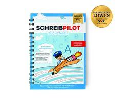Schreibpilot Buchstaben Lernheft inkl Bleistift und Radiergummi