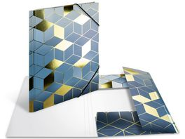 HERMA Sammelmappe A4 Karton Cubes