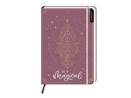 myNOTES Notizbuch A5 Be magical dotted