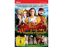 Alice im Wunderland Preisgekroente Verfilmung des Romanklassikers mit Staraufgebot Pidax Film Klassiker