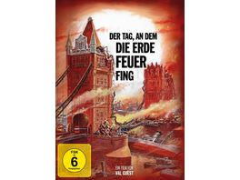 Der Tag an dem die Erde Feuer fing Special Edition Mediabook DVD Booklet Filmjuwelen
