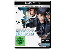 Sherlock Holmes 4K Ultra HD Blu ray 2D