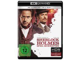 Sherlock Holmes Spiel im Schatten 4K Ultra HD Blu ray 2D