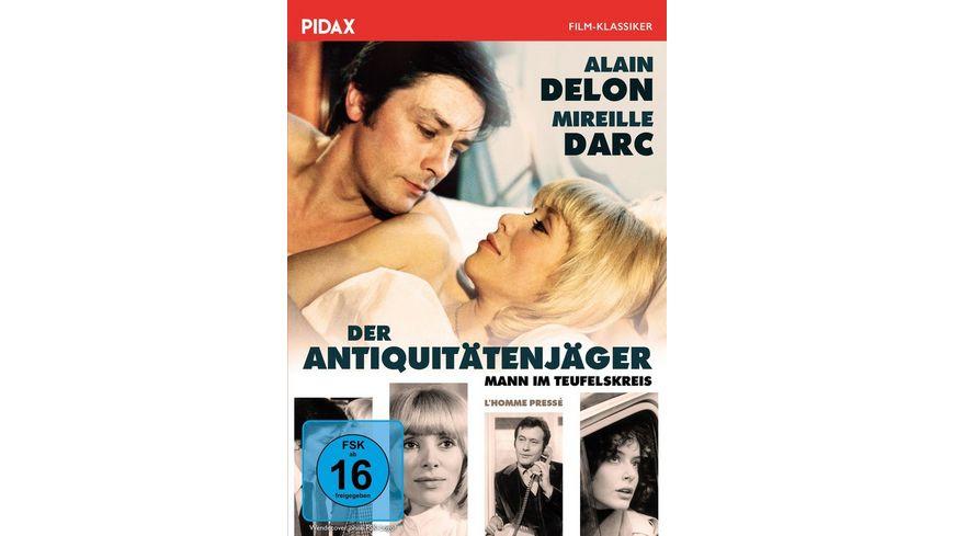 Der Antiquitaetenjaeger Mann im Teufelskreis Rasante Tragikomoedie mit Alain Delon Pidax Film Klassiker