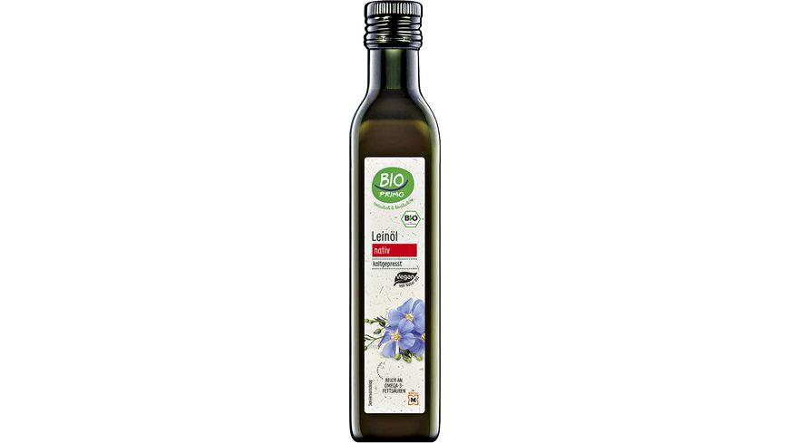 Bio Primo Leinöl nativ kaltgepresst