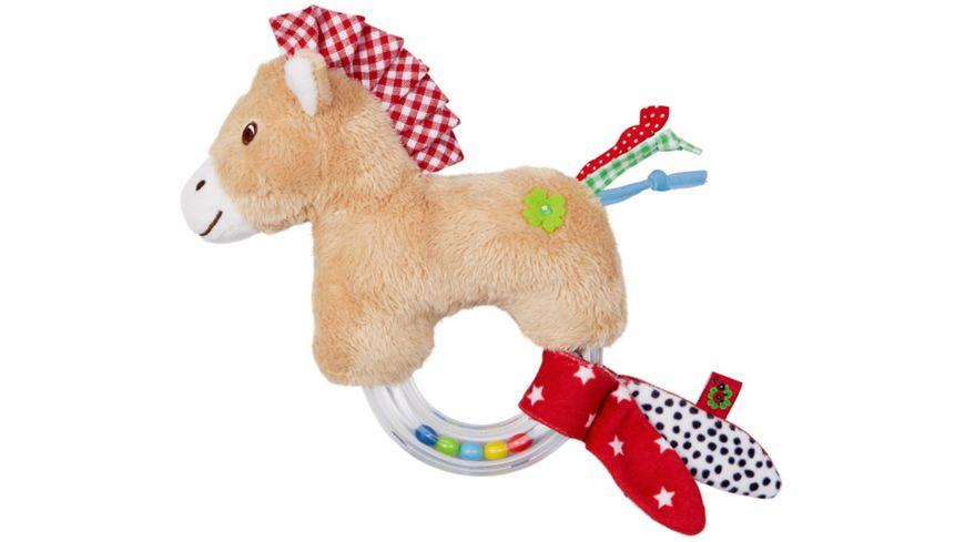 Die Spiegelburg - Ringrassel Pferdchen BabyGlück