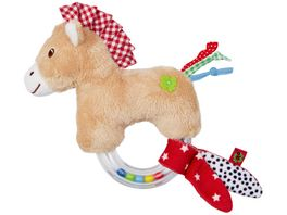 Die Spiegelburg Ringrassel Pferdchen BabyGlueck