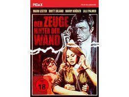Der Zeuge hinter der Wand Spannender Psychothriller mit Weltstarbesetzung Pidax Film Klassiker
