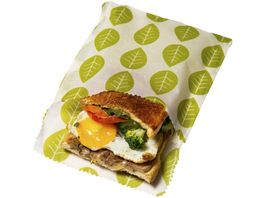 nuts Planzenwachstuch Sandwich und Snack Vegan 2 Stueck