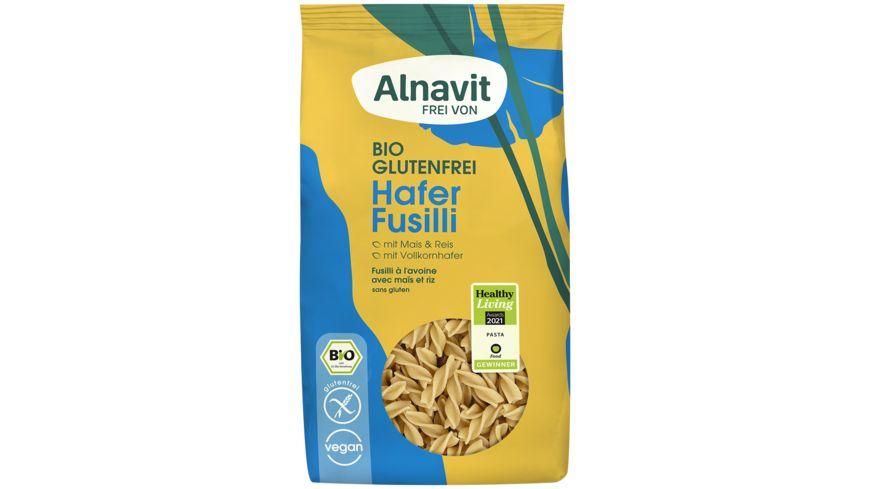 Alnavit Hafer Fusilli - glutenfrei