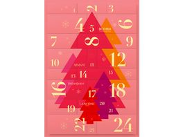 Lancome Luxus Adventskalender