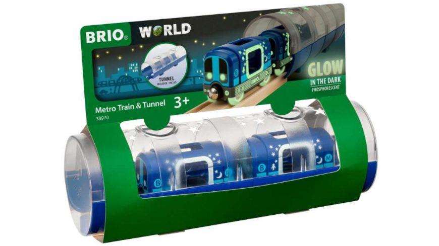 BRIO Bahn - Tunnel Box U-Bahn - Glow in the Dark