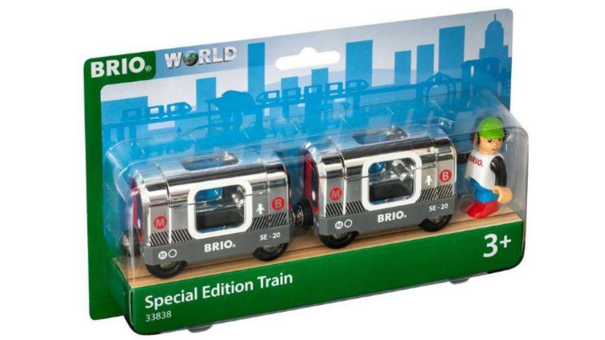 BRIO Bahn Silberne U Bahn Special Edition 2020