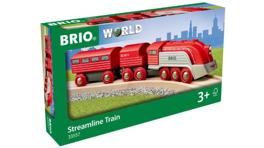 BRIO Bahn - Highspeed-Dampfzug