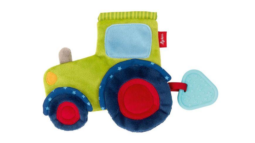 sigikid - Aktiv-Schnuffeltuch Traktor