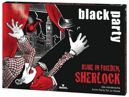 moses black party Ruhe in Frieden Sherlock