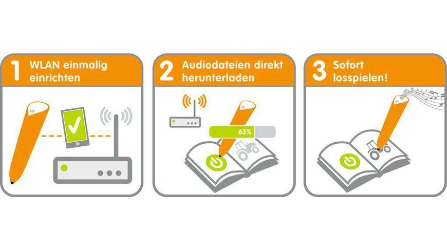 Ravensburger tiptoi WLAN Edition von Ravensburger ab 3 Jahren Das audiodigitale Lern und Kreativsystem tiptoi Audiodateien komfortabel ueber WLAN herunterladen