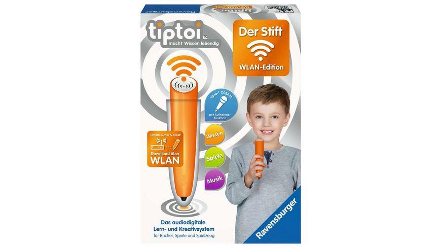 Ravensburger tiptoi - WLAN Edition von Ravensburger ab 3 Jahren / Das audiodigitale Lern- und Kreativsystem / tiptoi® Audiodateien komfortabel über WLAN herunterladen