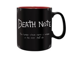 DEATH NOTE Tasse 460 ml Death Note matt