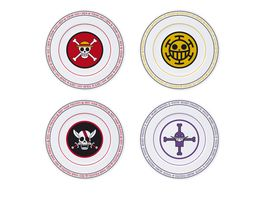 ONE PIECE 4er Teller Set Emblems