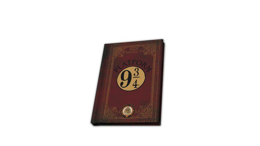 HARRY POTTER Pocket Notizbuch A6 Platform 9 3/4