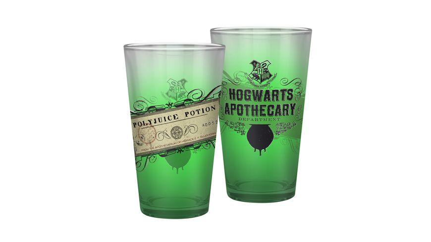HARRY POTTER Glas 400ml Polyjuice Potion