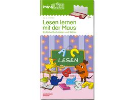miniLUeK Uebungshefte miniLUeK Vorschule Vorschule 1 Klasse Deutsch Lesen lernen mit der Maus