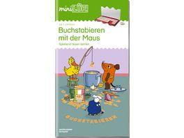 miniLUeK Uebungshefte miniLUeK Vorschule Vorschule 1 Klasse Deutsch Buchstabieren und Lesen mit der Maus