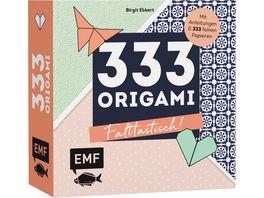333 Origami Falttastisch Mit Anleitungen und 333 feinen Papieren