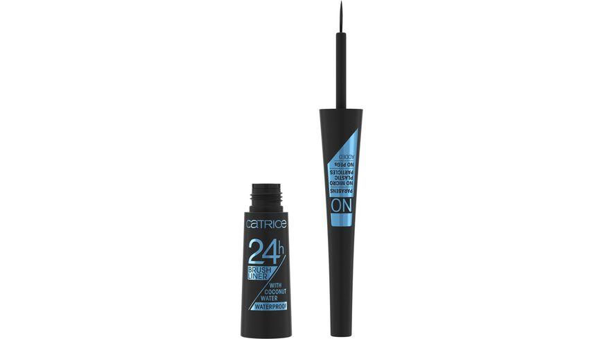 Catrice 24h Brush Liner Waterproof 010 Ultra Black Waterproof
