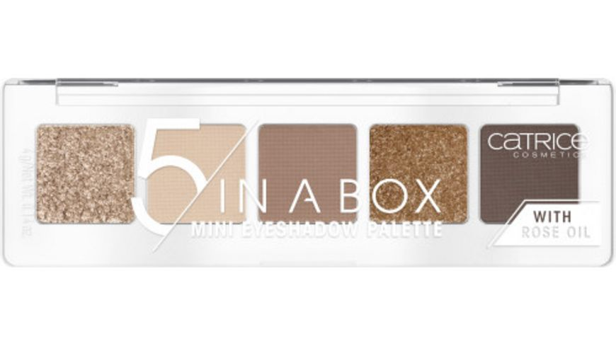 Catrice 5 In A Box Mini Eyeshadow Palette 010 Golden Nude Look