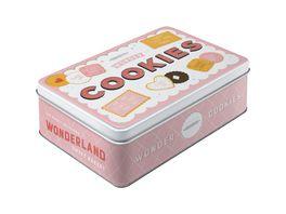 Nostlagic Art Vorratsdose flach Cookies