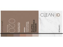 Catrice Clean ID Mineral Eyeshadow Palette Light